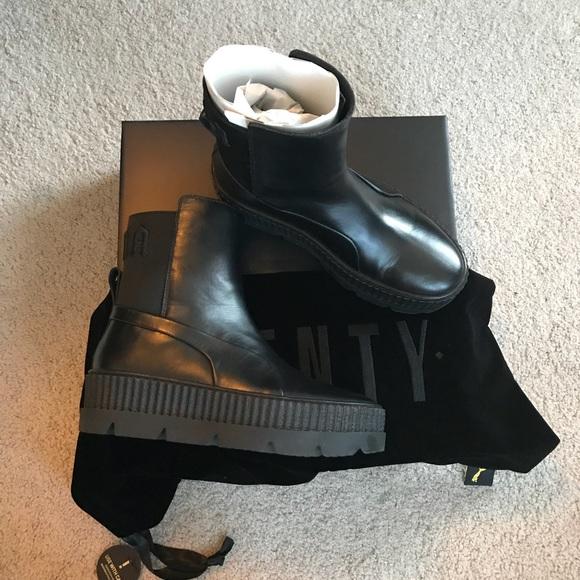 Fenty Chelsea Sneaker Boots Black 87f7abd63